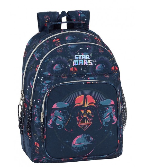 Mochila Escolar Adaptable Star Wars Death Star