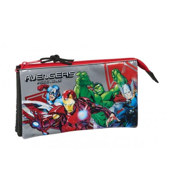 Portatodo Tres Compartimentos Avengers Heroes