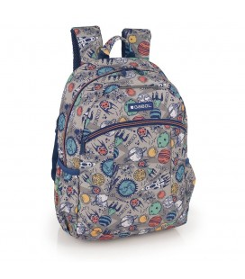 Mochila Escolar Adaptable Planet Gabol