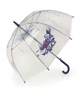 Paraguas Largo Transparente 56Cm 8 ribs Speed Gabol