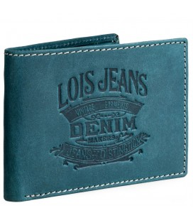 Cartera Billetero Lois Keel Azul