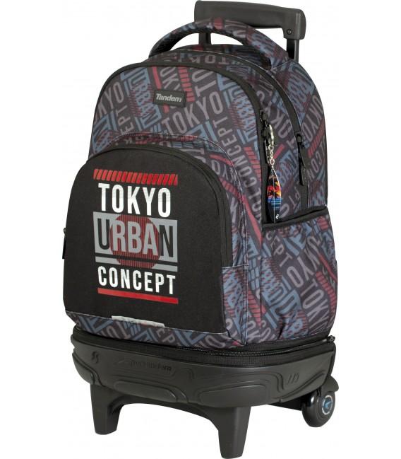 Mochila Carro Compact Desmontable Tandem Tokyo