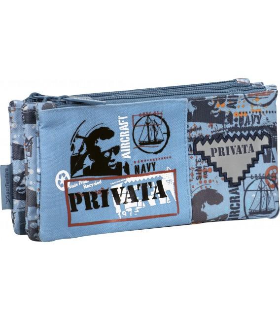 Portatodo Tres Bolsillos Indep Privata Navy