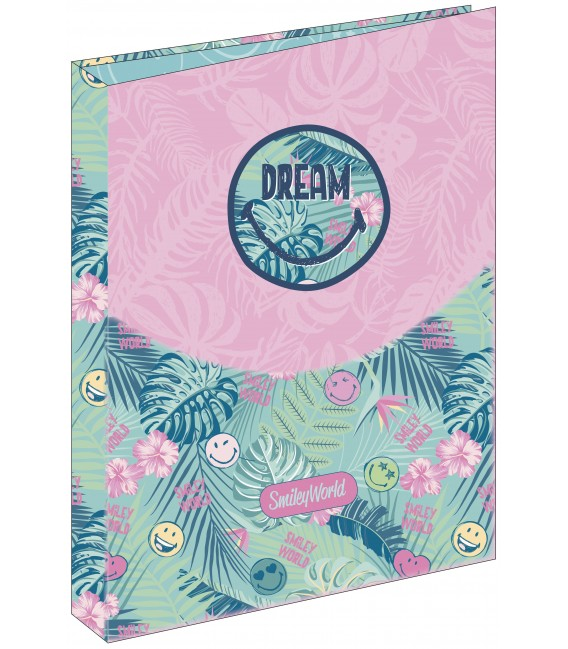 Carpeta 4 Anillas Smiley Dream