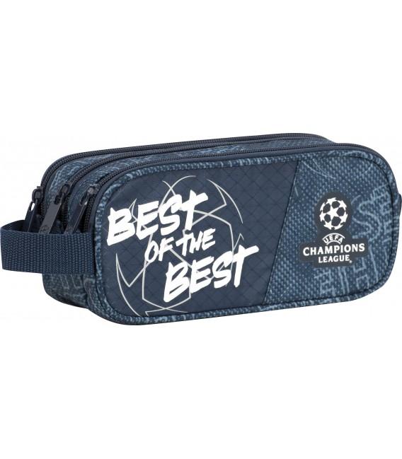 Portatodo Tres Compartimentos Cuadrado Champions League The Best