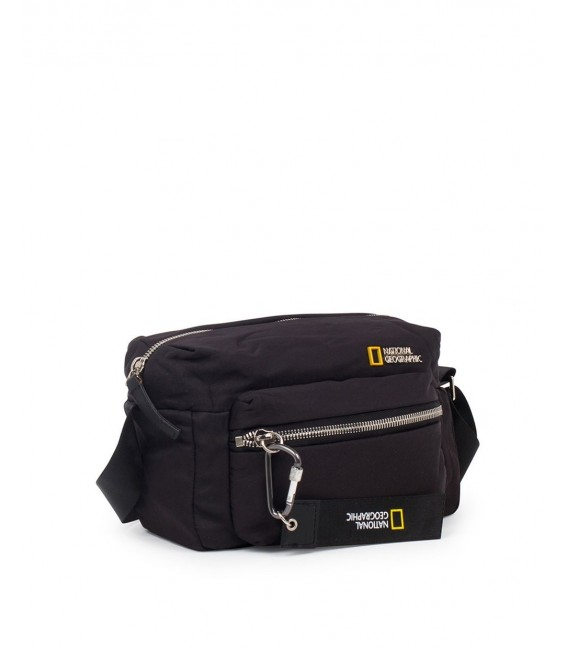 Bolso Bandolera National Geographic Research Negro