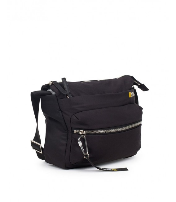 Bolso Cruzado National Geographic Research Negro