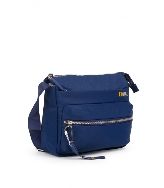 Bolso Cruzado National Geographic Research Azul