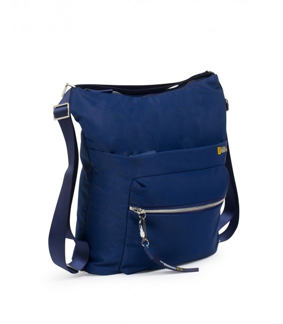 Bolso Bandolera Cruzado National Geographic Research Azul