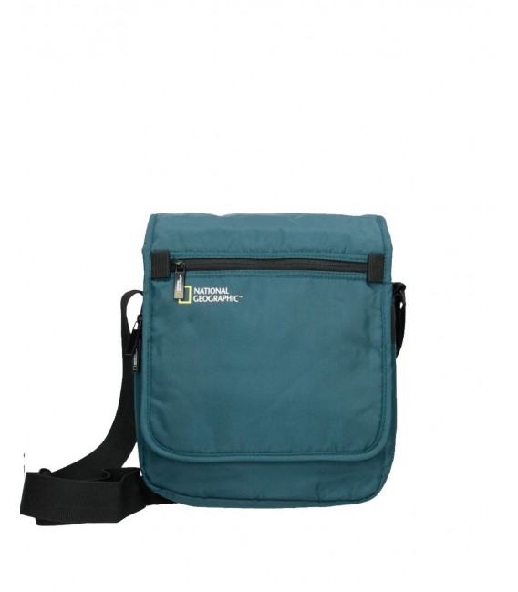 Bolso bandolera National Geographic Transform Azul Petroleo