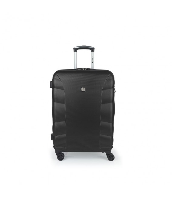 Maleta Trolley Mediana Gabol London Negro