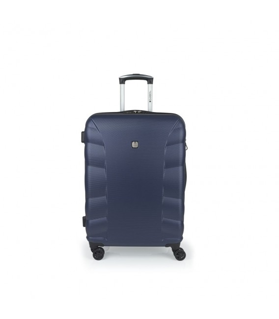 Maleta Trolley Mediana Gabol London Azul