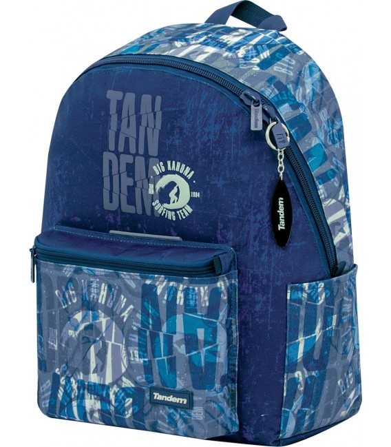 Mochila Teen Escolar Tandem Waves