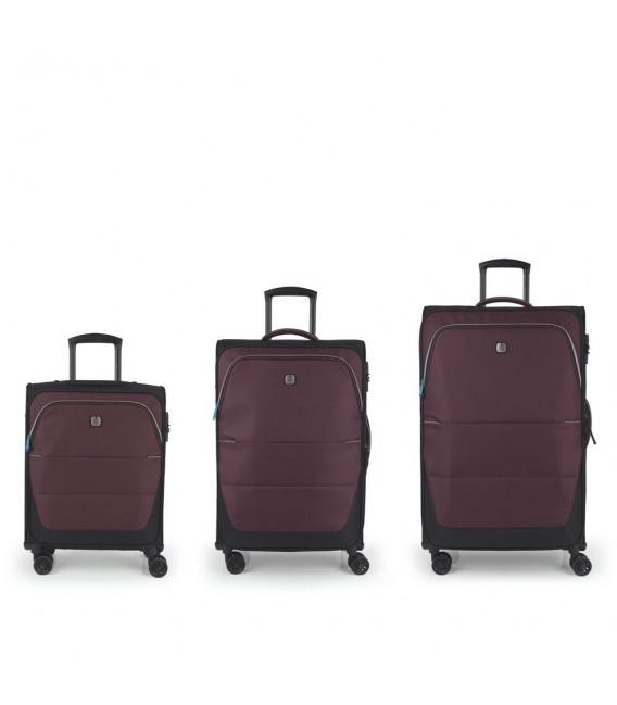 Set 3 Maletas C22-M-L Gabol Concept Burdeos