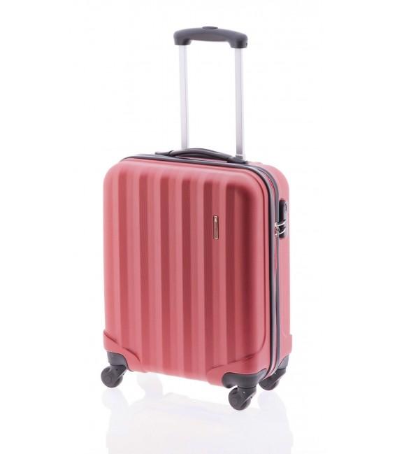 Maleta Cabina John Travel Rubine Rojo