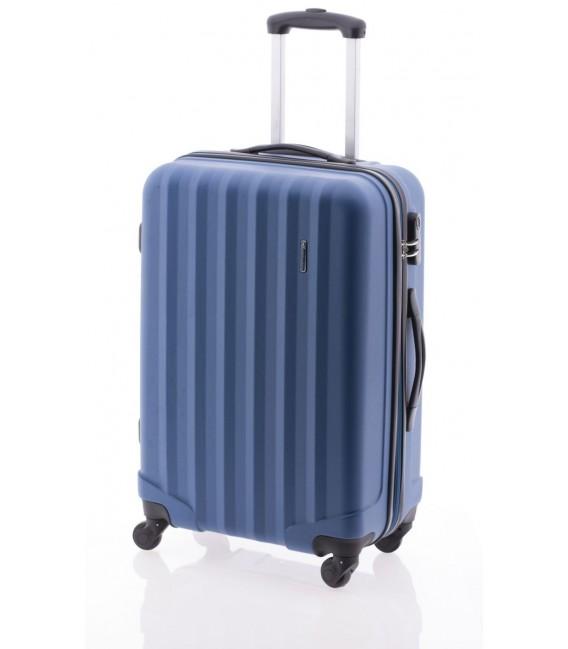 Maleta Mediana John Travel Rubine Azul