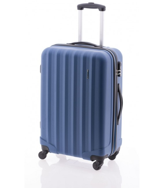 Maleta Grande John Travel Rubine Azul