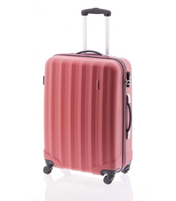 Maleta Grande John Travel Rubine Rojo