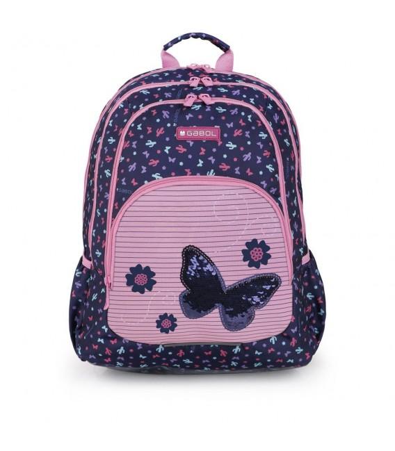Mochila Escolar Butterfly Gabol