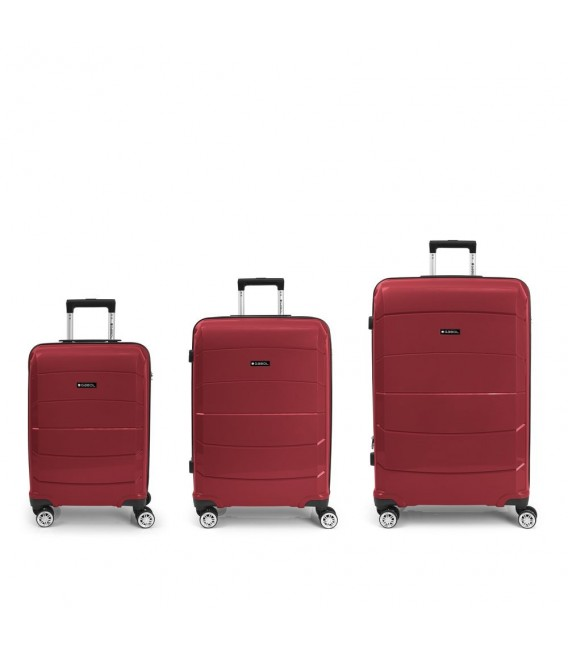 Set 3 Maletas C22-M-L Gabol Midori Rojo