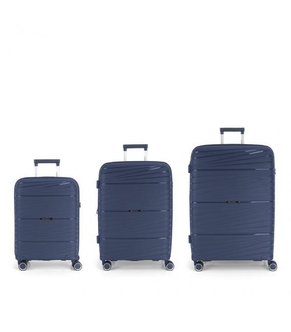 Set 3 Maletas C22-M-L Gabol Kiba Azul