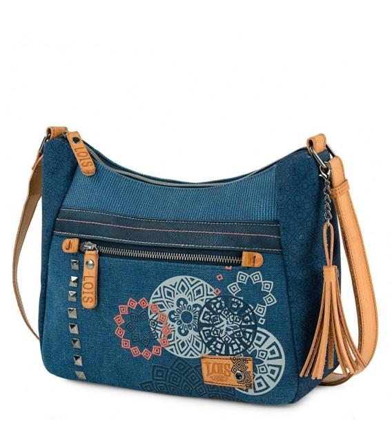 Bolso Cruzado Mujer Lois Pasadena Azul