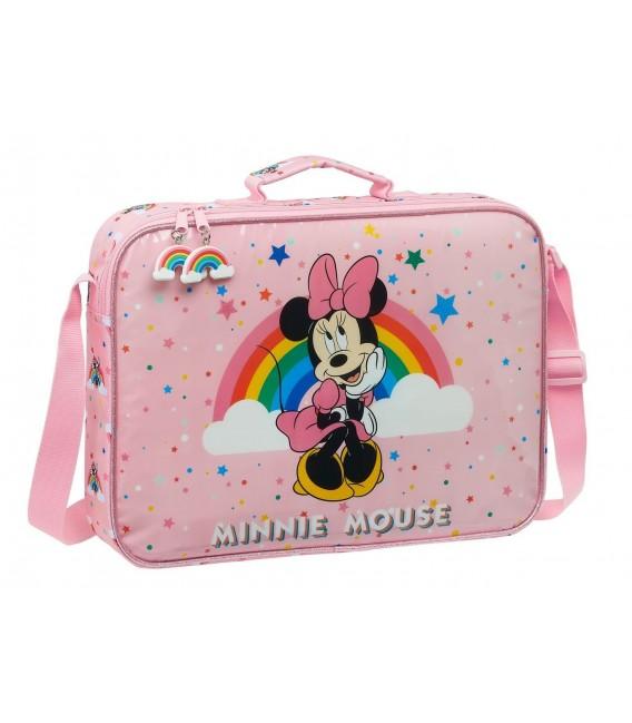 Cartera Extraescolar Minnie Mouse Rainbow