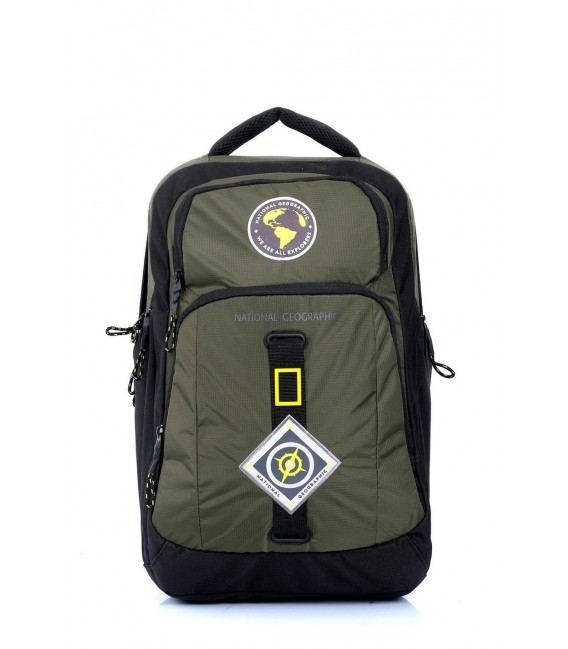 Mochila Portaordenador National Geographic New Explorer Kaki