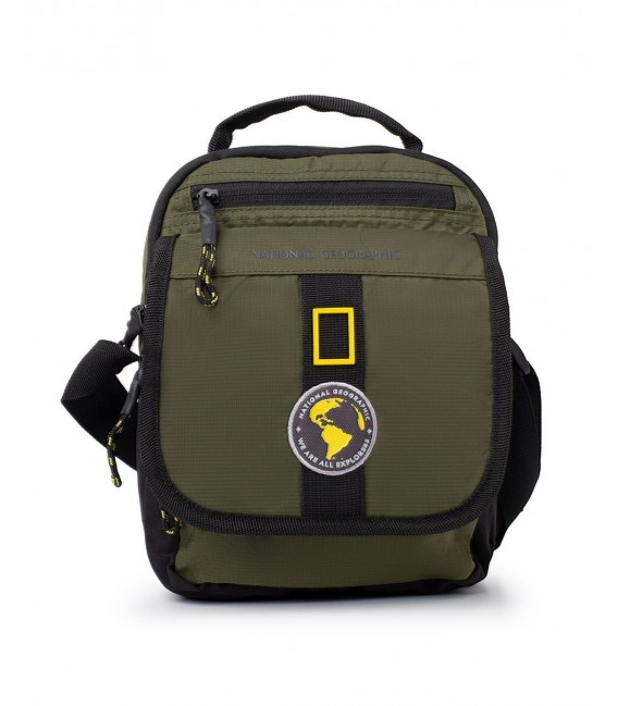 Bolso Cruzado National Geographic New Explorer Kaki