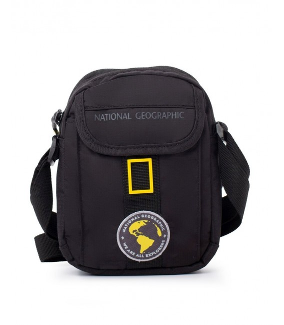 Bolso Cruzado Hombre National Geographic New Explorer Negro