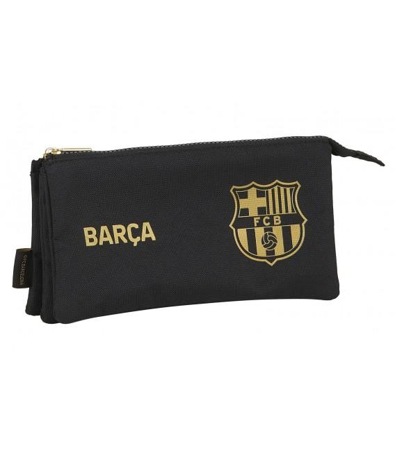 Portatodo Tres Compartimentos F.C. Barcelona Negro