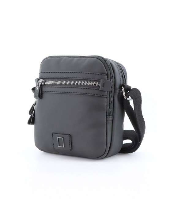 Bolso Cruzado Doble National Geographic Slope Negro