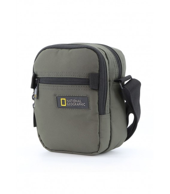 Bolso Cruzado National Geographic Mutation Khaki