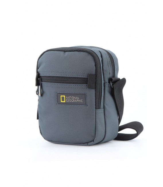 Bolso Cruzado National Geographic Mutation Gris