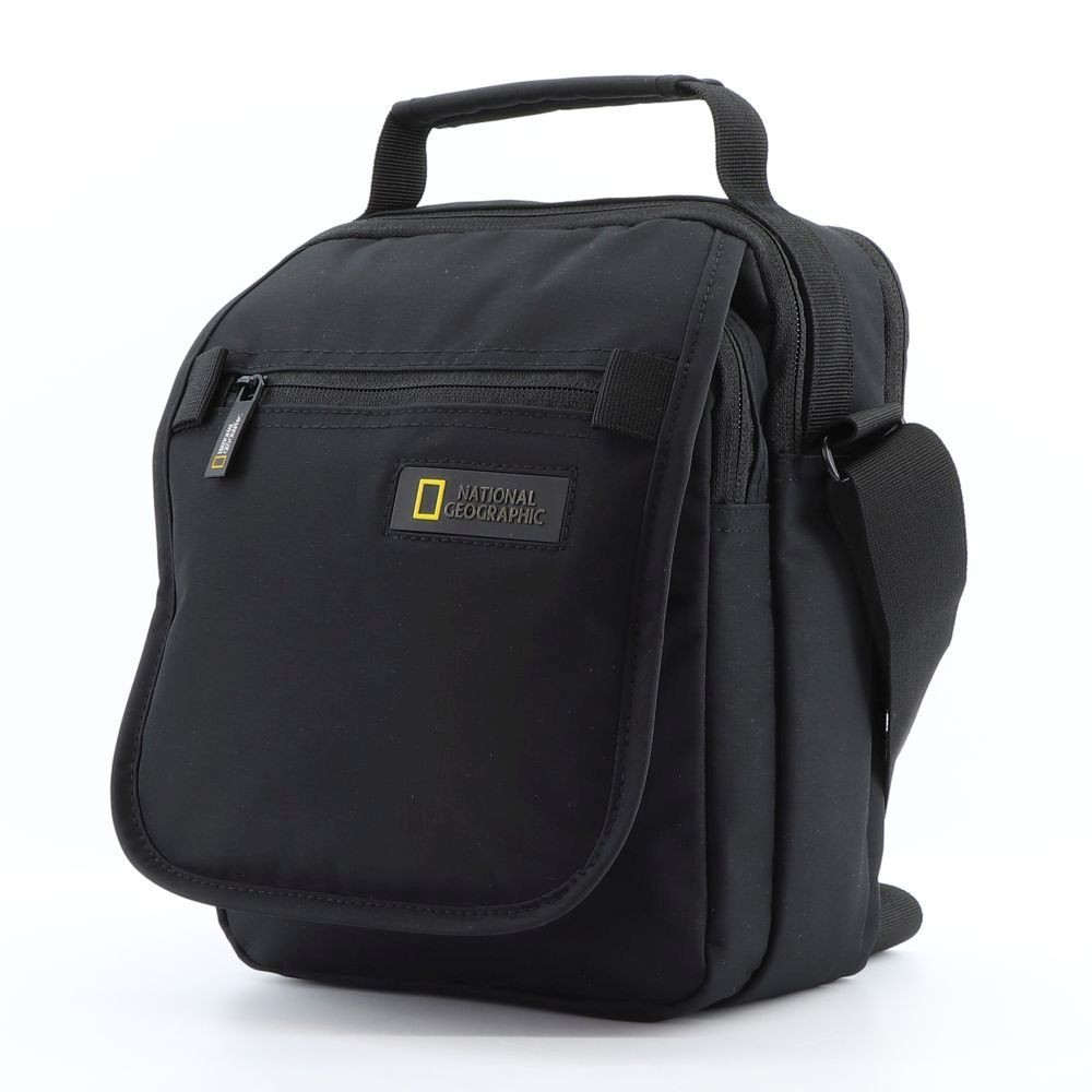 Bolso Bandolera Doble National Geographic Mutation Negro