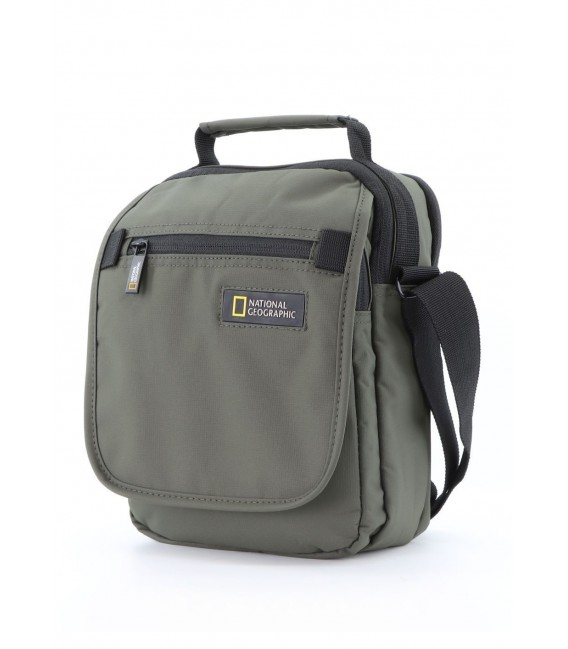 Bolso Bandolera Doble National Geographic Mutation Khaki