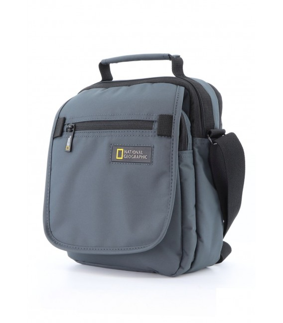 Bolso Bandolera Doble National Geographic Mutation Gris