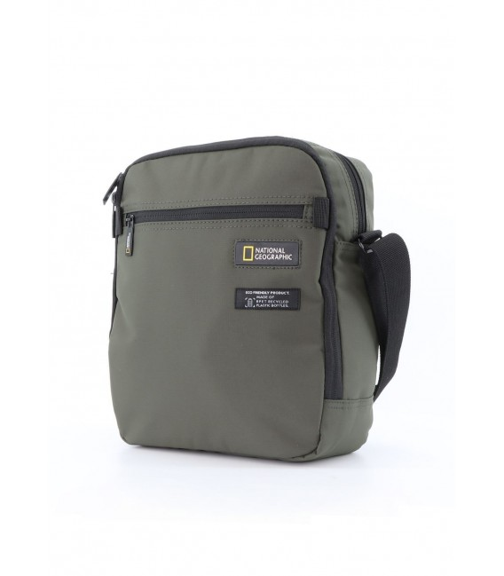Bolso Cruzado Doble National Geographic Mutation Khaki