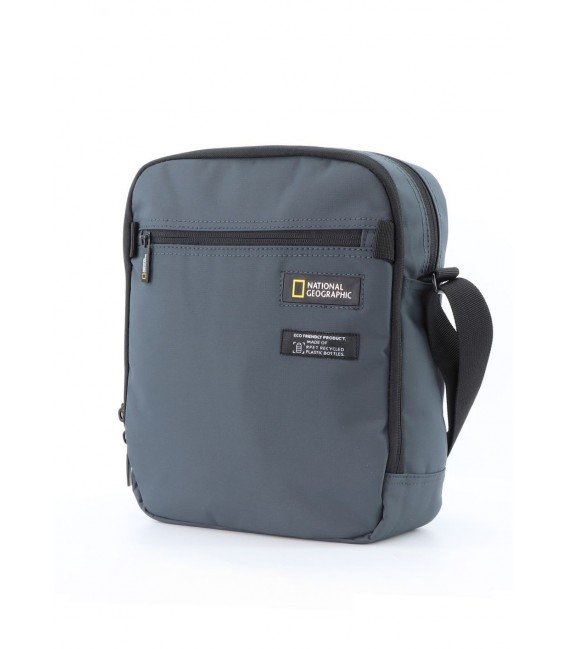 Bolso Cruzado Doble National Geographic Mutation Gris