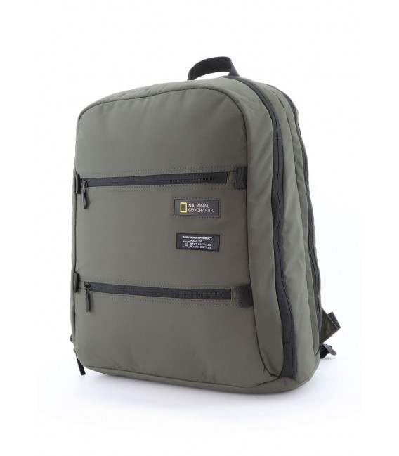 Mochila Portaordenador Doble National Geographic Mutation Khaki