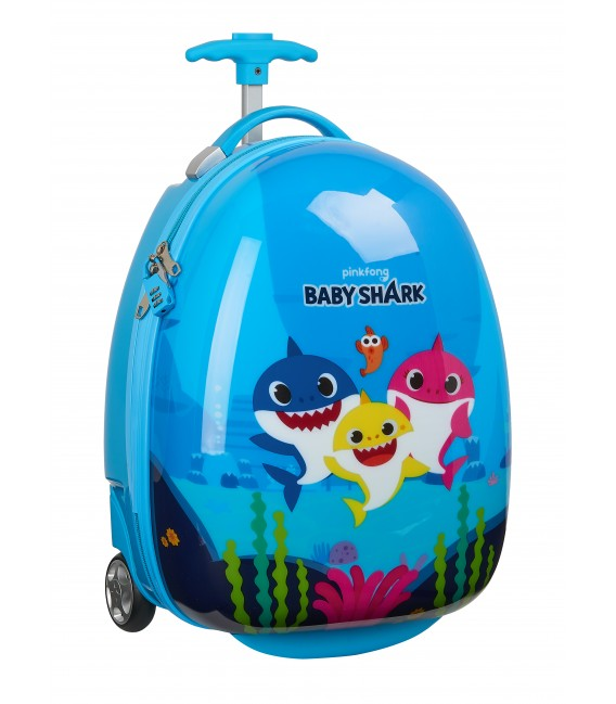 "TROLLEY INFANTIL 16"" BABY SHARK"