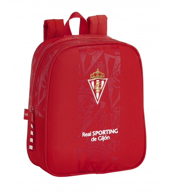MOCHILA GUARDERIA ADAPT.CARRO REAL SPORTING DE GIJON CORPORATIVA
