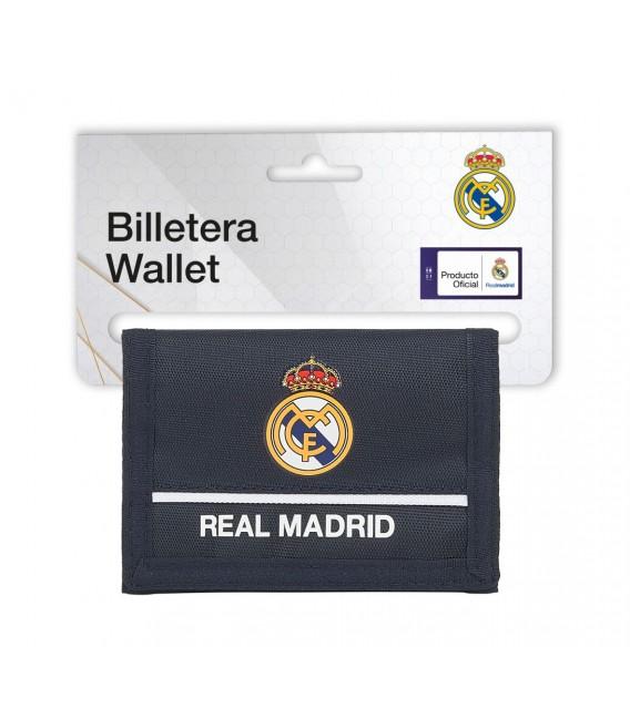 BILLETERA CON CABECERA REAL MADRID