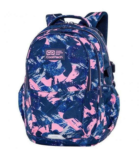 Mochila Escolar Factor Pink Strokes Coolpack