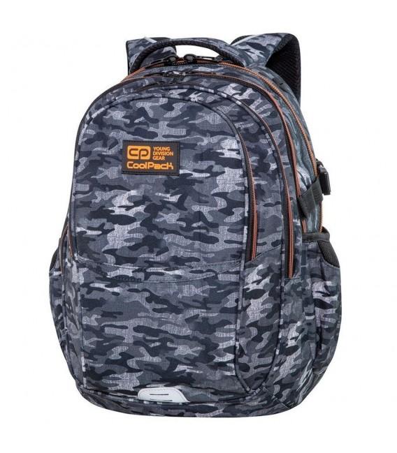 Mochila Escolar Factor Military Grey Coolpack