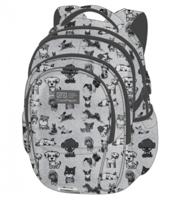 Mochila Escolar Factor Doggies Coolpack
