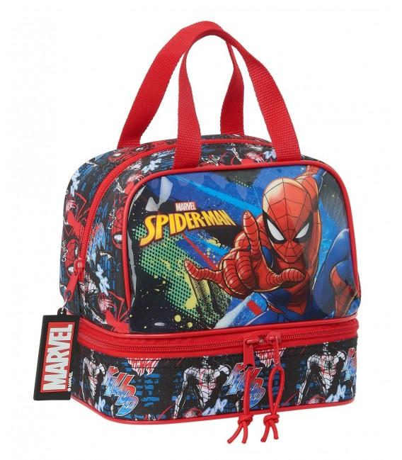 "PORTAMERIENDAS SPIDER-MAN ""GO HERO"""