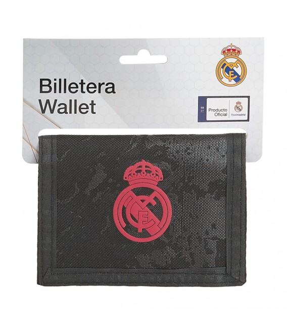 BILLETERA REAL MADRID 3 EQUIPACION