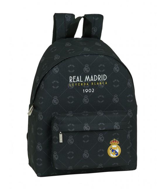 MOCHILA REAL MADRID BLACK