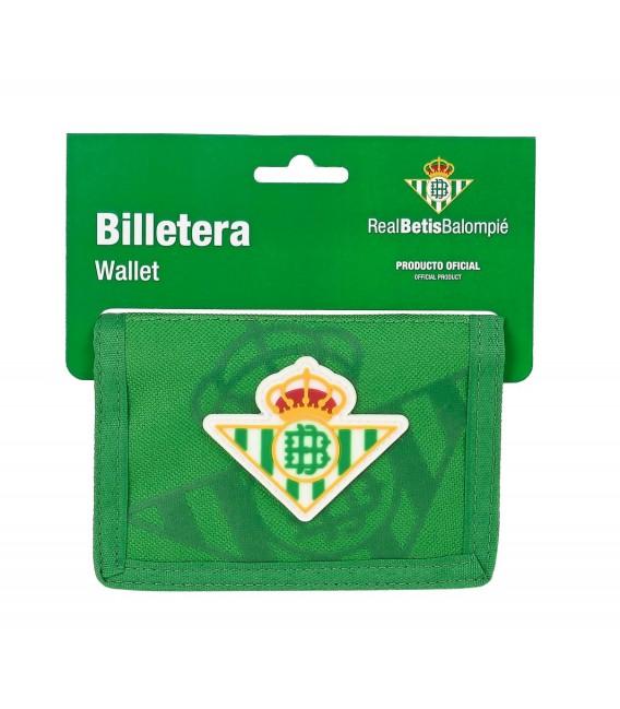 BILLETERA CON CABECERA REAL BETIS BALOMPIE